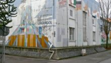 Der Hochbunker in der Pützlachstraße